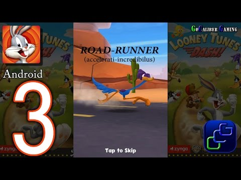 Looney Tunes Dash Android Walkthrough - Part 3 - Episode 2: Road Runner Rampage