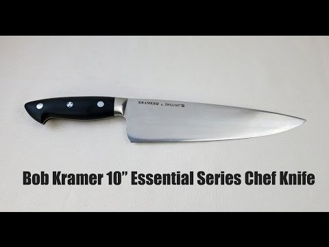 Bob Kramer Essential Series 10″ Chef Knife Review