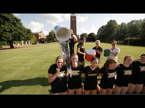 Birmingham-Southern Volleyball ALS Ice Bucket Challenge.