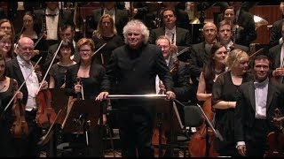 Sir Simon Rattle conducts the Australian World Orchestra, Bruckner Symphony No. 8 2015
