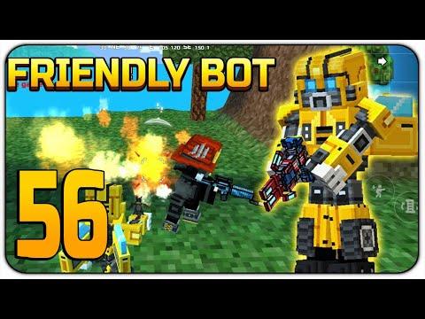 Friendly Bot in Battle Royale - Pixel Gun 3D