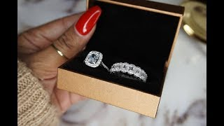 Boujee On A Budget: LOOK AT MY NEW WEDDING BAND SET | Jewmara.com