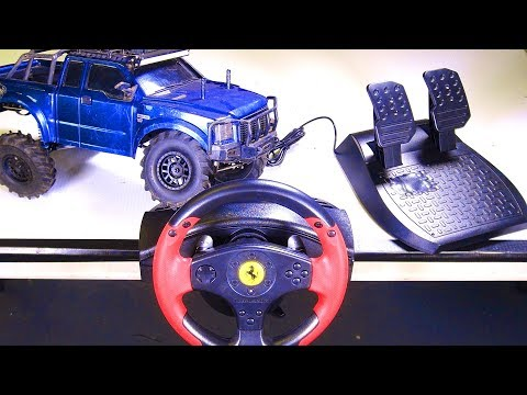 RC ADVENTURES - RACE WHEEL MOD - For RC! Playstation, XBox, PC, RC? Thrustmaster - Radio - Spektrum