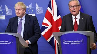 Live: Boris Johnson and EU chief Juncker make joint statement after Brexit deal agreed | ITV News