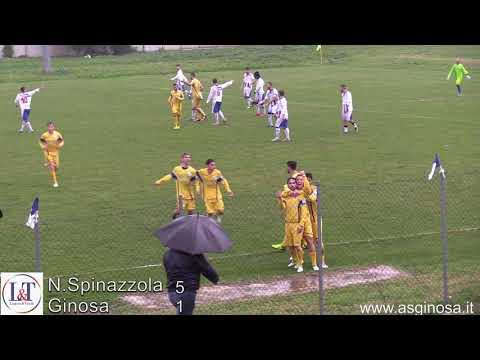 Preview video N.SPINAZZOLA-GINOSA 5-1 Tracollo bis in trasferta dopo un promettente avvio culminato con il gol di vantaggio