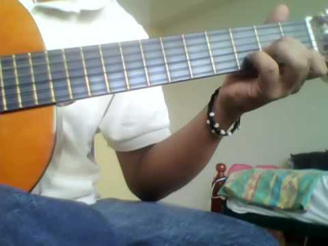 how to play guitar Dm, A7, Gm