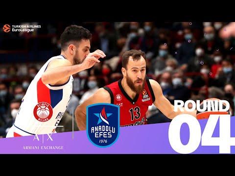 RS Round 4 Highlights: Milan 75-71 Efes