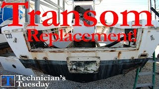 Replacing A Boat Transom - Part 1!