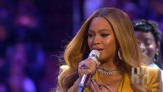 Beyoncé Performs At Kobe And Gianna Bryant's Memorial Service