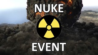 Warzone Nuke Event (No Commentary) - Destruction of Verdansk Part 1 | Call of Duty Warzone