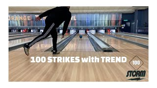 100 Strikes using TREND