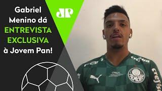 Gabriel Menino revela conselho de Abel Ferreira e fala que sonhou com gol do título