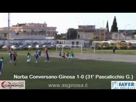 Preview video Norba CONVERSANO-GINOSA 3-0 Ginosini e arbitro in giornata negativa