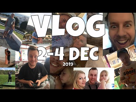 Golf Clash Tommy, VLOG from 2 - 4 december 2019