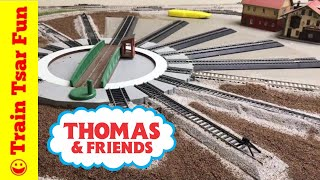 HO Scale Thomas & Friends Layout Update  - Replacing Turntable