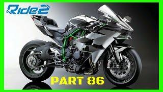 RIDE 2 PS4 PRO gameplay Part 86 | NINJA H2R RACE & SETUP! | #RIDE2