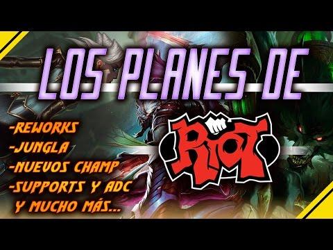 NUEVOS campeones, CAMBIOS, rework Y MÁS, habla RIOT | Noticias League Of Legends LOL