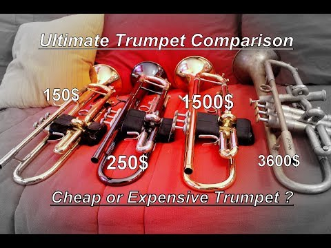 Cheap or Expensive ? (Trumpet Edition)