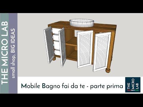 Come costruire un mobile bagno - prima parte