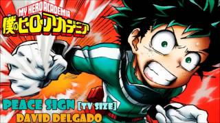 Peace Sign [Tv Size] (My Hero Academy opening 2) cover latino by David Delgado