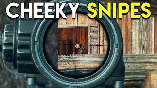 CHEEKY SNIPES - PUBG (PlayerUnknown