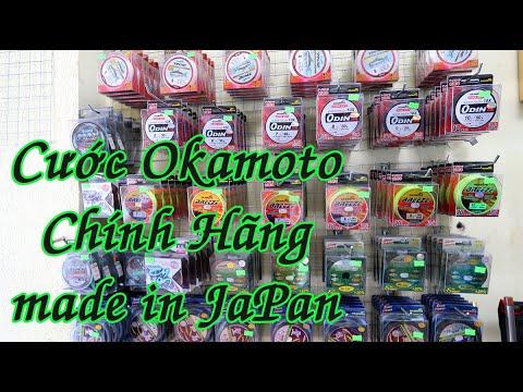 Cước Câu Okamoto Winner - Cước Nhật Chính Hãng - Made in japan