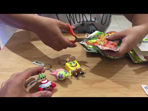 Unboxing!! Llaveros Key Rings de Nickelodeon