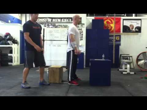 Box Squat Box Jump