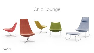 Kolekcja foteli Chic Lounge by Christophe Pillet