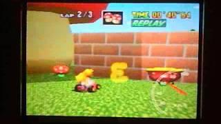 1:27.97 (1:13.16 ntsc) Mario Raceway