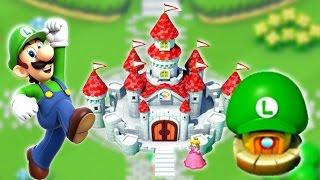 Super Mario Run - UNLOCK LUIGI FIRST GAMEPLAY - 2500 TOADS