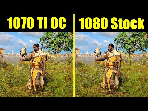 Assassins Creed Origins Walkthrough - GTX 1070 TI Vs GTX 1080 Vs AMD RX  Vega 56 Frame Rate Comparison by duderandom84 Game Video Walkthroughs