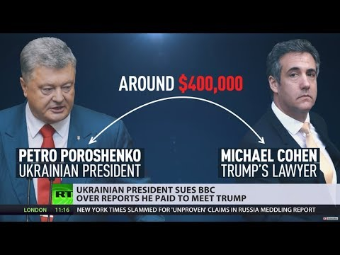 Unconventional arrangement? BBC gets sued over claims Ukrainian president paid to meet Trump