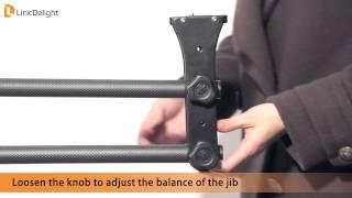 Linkdelight.com-Camera Crane Jib for DSLR Camera introduction