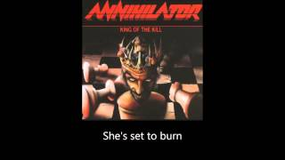 Annihilator - Speed (Lyrics)