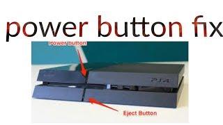 How to fix broken power button PS4