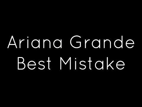 Música Best Mistake (feat. Big Sean)