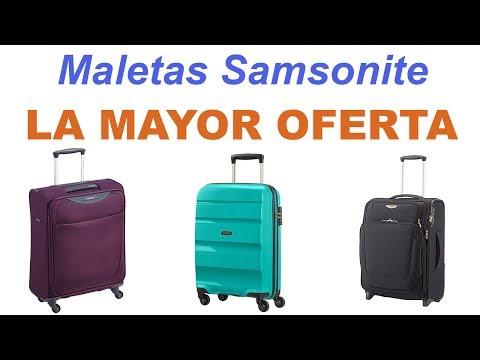 Maletas Samsonite | La mayor oferta en maletas Samsonite