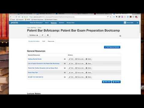 Patent Bar Exam Prep Free Discussion Forum - YouTube