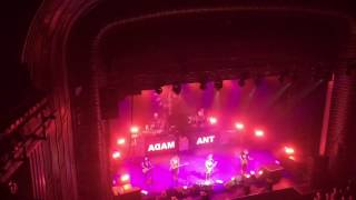 "Adam Ant ""Red Scab"" Oxford 2016"