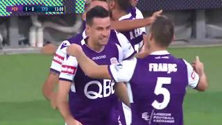 Perth Glory Vs Sydney 3-1 All Goals & Highlights 9.01.2019