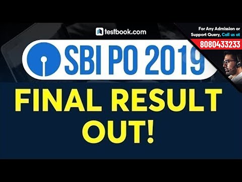 SBI PO Result 2019 Out!   How to Check SBI PO Mains 2019 Final Result   SBI PO Cut Off 2019