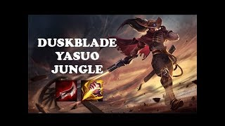 [JUNGLE] FULL CRITICAL LETHALITY YASUO ONE SHOT   LEAGUE OF LEGEND INDONESIA