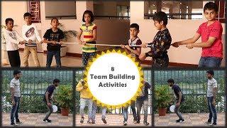 8 Team building activities | 8 Team building games | Outdoor Games | Indoor Games