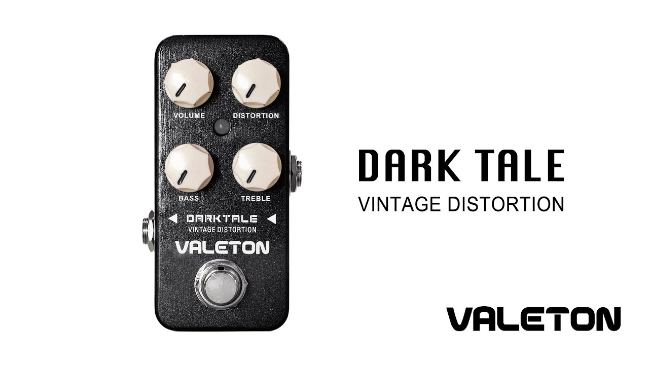 Säröpedaali Valeton Darktale Vintage Distortion