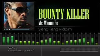 Bounty Killer - Mr. Wanna Be (Sleng Teng Riddim) [HD]
