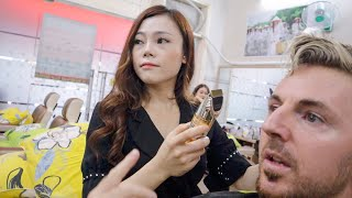 Beautiful Vietnam Barber gives more than a Hair Cut