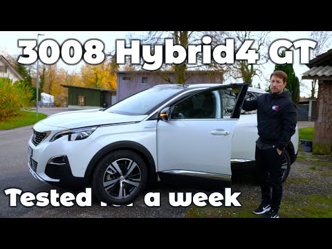Peugeot 3008 Hybrid4 GT 2020 Review after one week of testing