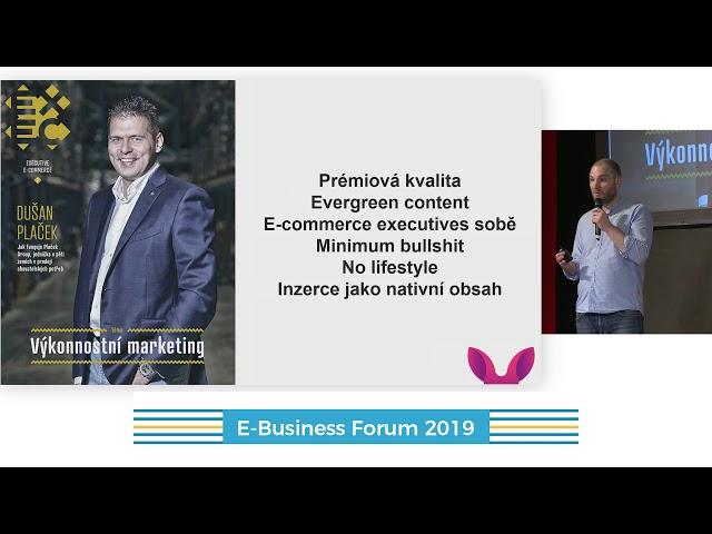 E-Business Forum 2019: Jiří Vicherek + Irena Zatloukalová