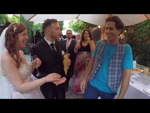 Prestigiatore al matrimonio